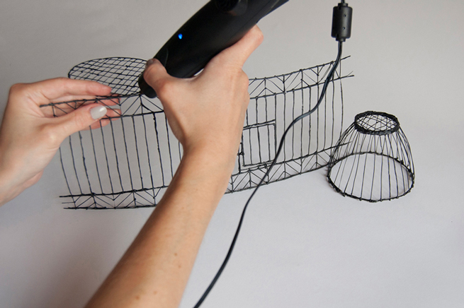 3D pen tutorials by Marie Rouillon